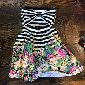Adorable Urban strapless dress!